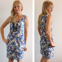 Burda-Dress-Sleeveless