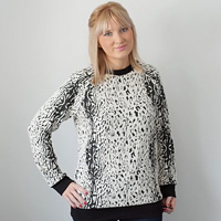 Jumper-Animal-Print