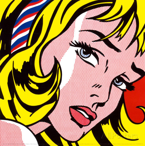 roy-lichtenstein-girl-with-hair-ribbon-c-1965