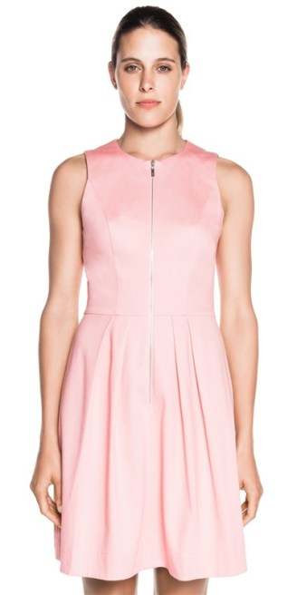 Cue-soft-Pink-Pique-Dress-2